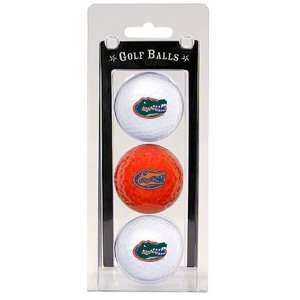 Florida Gators Team Logo Three Golf Ball Pack   Golf