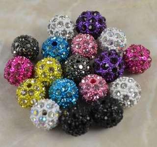 Side Ways Crystal Rhinestone Cross Bracelet Connector Charm Beads F&P