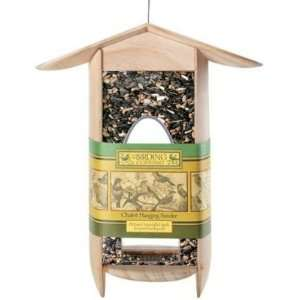 Chalet Hanging Feeder by Birding Company Patio, Lawn