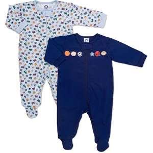 Gerber   Newborn Boys 2 Pack Sleep n Play Baby Clothing