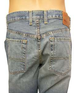 Lucky Brand Jeans Mens Slim Bootleg Distressed Jeans  Overstock