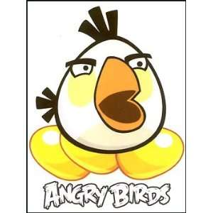 White Angry Birds Temporaray Tattoo: Toys & Games