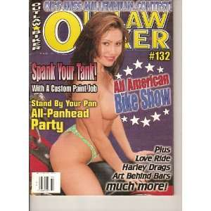 Outlaw Biker magazine (Best Biker Rag Around!, #132 Volume