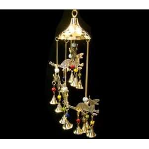 Dragon Wind Chime Brass 19