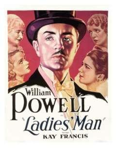 Ladies Man, William Powell, Maude Turner Gordon, Carole Lombard, Kay