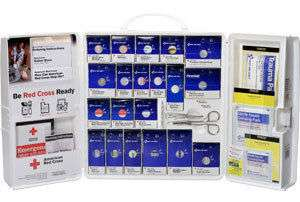 209 Piece Red Cross Business First aid Kit (Plastic)