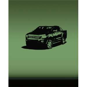 Wall Mural Vinyl Sticker Dealeship Car Ford Ranger A841