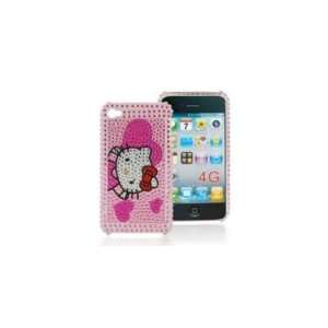 Iphone 4 4g Hello kitty Bling Hard Case Skin Cover ~USA SELLER~(At&t