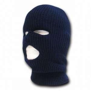 NAVY BLUE TACTICAL MASK SKI CAP FACE PROTECTOR 3 THREE