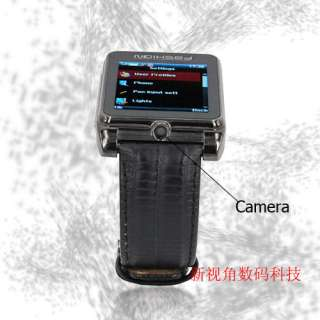NEW 2012 Hot NEWEST Unlocked Ice Cool Metal Wrist Watch Cell Phone AT