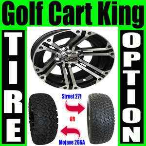 Lifted Golf Cart 12 Wheel and 23 Tire Combo Lift Kit