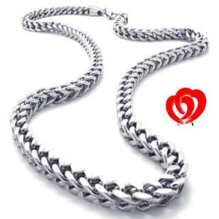 High Quality Men Silver Stainless Steel Necklace Chain
