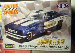 Funny Car Model Kit 125 Richard Leong Hawaiian Charger