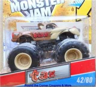 2011 Hot Wheels Monster Jam 42 TAZ TASMANIAN DEVIL