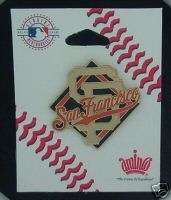 San Francisco Giants Pin ~ Logo & Diamond ~ MLB