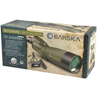 Barska Blackhawk Spotting Scope 20 60x60 AD10350 w/ Kit 790272976409