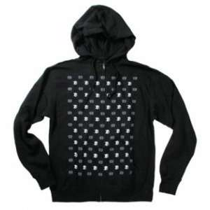 Planet Earth Clothing Block Repeat Zip Hoodie: Sports
