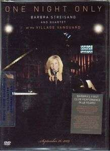 DVD BARBRA STREISAND ONE NIGHT ONLY SEALED 2010 LIVE