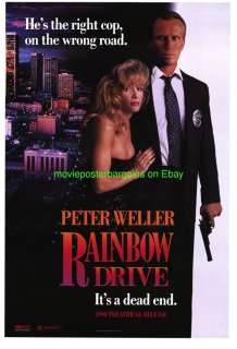 RAINBOW DRIVE MOVIE POSTER 27x40 SELA WARD PETER WELLER
