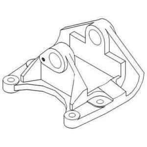 New Front Radius Rod Support Bracket 86514363 Fits FD