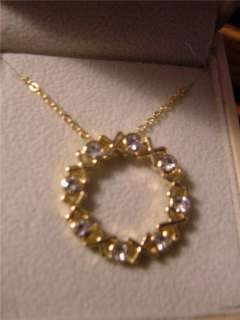 NWT XOXO Hugs & Kisses Gold Crystals Necklace Gift Love