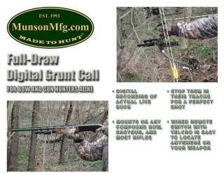 Full Draw DIGITAL GRUNT CALL For Deer Hunting