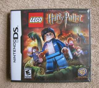 HARRY POTTER Lego Nintendo DS Game Set Years 5 7 USA Retail