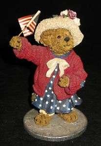 Boyds Bears ELEANORE BEARSEVELTGOD BLESS AMERICA 2E
