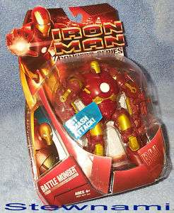 Rare Marvel BATTLE MONGER IRON MAN Action Figure