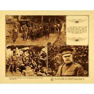 1920 Rotogravure WWI German POW General Hunter Liggett