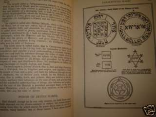 OCCULT GRIMOIRE SECRET WHITE & BLACK MAGIC MAGICK MAGIC