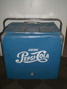 Vintage 1950s Pepsi Cooler **Nice** No Reserve