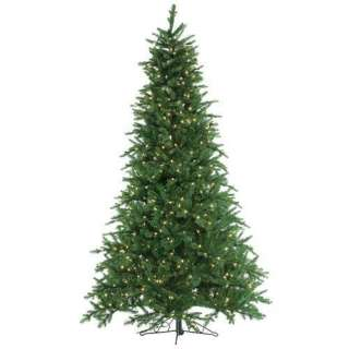 Hillside Frosted Fir Medium Pre lit Christmas Tree Christmas Decor