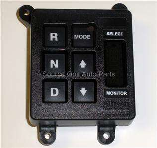 ALLISON TRANSMISSION PUSH BUTTON SHIFT SELECTOR G4PB113