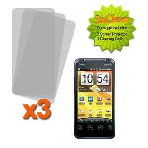 LCD Film Guard Screen Protector HTC EVO Shift 4G A7373 Phone