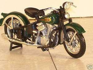 1936 Harley Davidson El Knucklehead Diecast Motorcycle