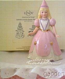 Lenox Halloween Little Pink Fairy Princess Figurine