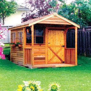 Cedarshed Cedar Shed Kids Club House 8x 12 Feet shed at