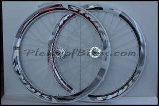 Fixie Single Speed Bike Flip Flop Wheelset Wheels Rims White