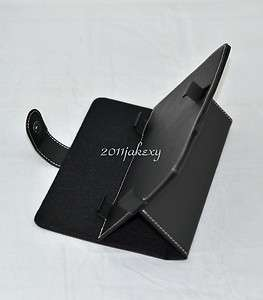 Stand Folio Leather Case Cover+(free film) For 7 Sweex Yarvik