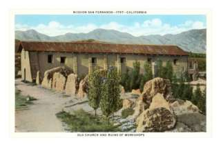 San Fernando Mission, California Posters at AllPosters