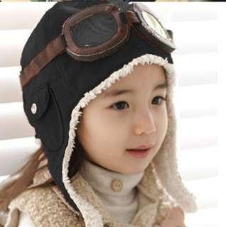 1pcs 1 5T pilot winter children baby toddler hat new