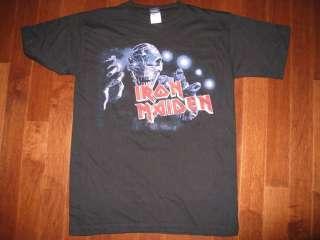 IRON MAIDEN T SHIRT VINTAGE 2003 TILL IM DEAD TOUR