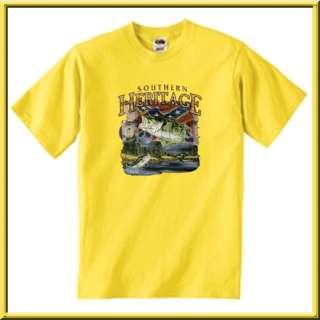 SH Bass Rebel Confederate Flag T Shirt S,M,L,XL,2X,3X,4X,5X