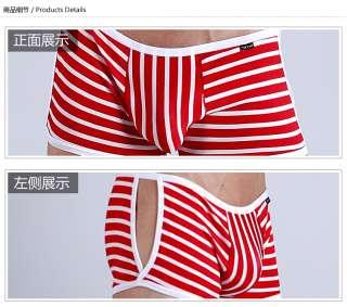 New Mens Sexy Boxers Briefs Underwear 201162 stripe Boxers Briefs
