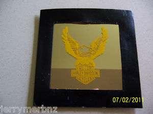 HARLEY DAVIDSON EAGLE MIRROR (authentic mirror/case)