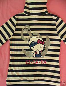 KiLaRa Hello Kitty Hoodie Jacket T shirt Top Cap Sz S