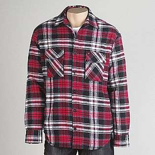 Young Mens Heavy Weight Fleece Lined Flannel Shirt  Amplify Clothing