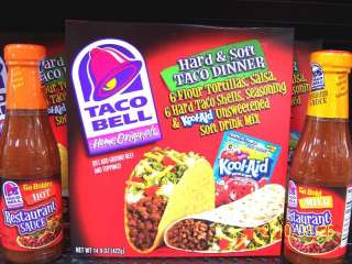 Taco Bell Sauces,Meal Kits,Seasonings Your Choice