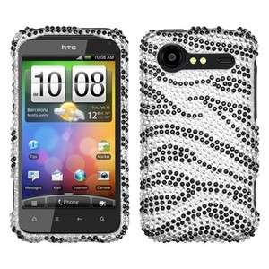 Zebra Bling Case Phone Cover for HTC Droid Incredible 2